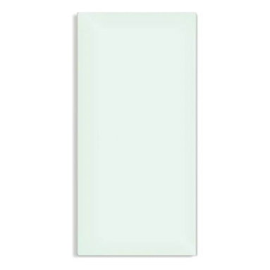 WarmlyYours - Lava Glass Heating Panel Mirror 250W - The Lava Glass range are perfect in form and never out of style. They can be fixed to a wall both horizontally as well as vertically. The Lava Glass are available in the following colors: pure-white, white-green, red and black. The Lava Glass panels are also available in a satin and come with a 5-year warranty.