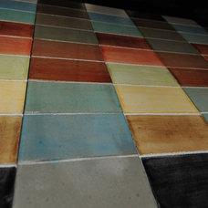 Contemporary Floors by MODE CONCRETE