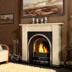 Chantico Line A-05 Bioethanol Fireplace Insert - Chantico Line A-05 Bioethanol Fireplace Insert does not require a chimney installation so it's ready to use moments after receiving it. This fireplace increase the visual spectacle of the dancing flames as well as to cater for the user's safety, equipped with two tempered glass shields.