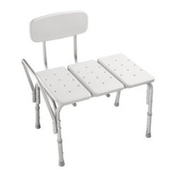 Liberty Hardware - Liberty Hardware S1F565 Bath Safety 19.29 Inch - Gray - This Safety First Tub Transfer Bench is designed to help prevent accidents to make bathing safer. It features non-slip rubber feet for enhanced stability, and its armrest provides extra support for left- or right-handed tub entry. Width - 19.29 Inch, Height - 30.55 Inch, Projection - 30.28 Inch, Finish - Gray, Weight - 12.1 Lbs.