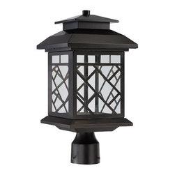 Designer Fountain - Woodmere LED Post Lantern - 8.5 inches post lantern