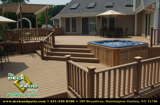 "Traditional Deck by Deck and Patio Company ""Outdoor Living Experts"""