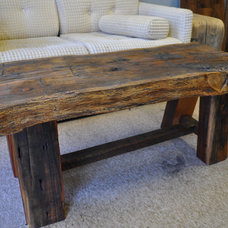 Rustic Coffee Tables by Atlanta Specialty Woods