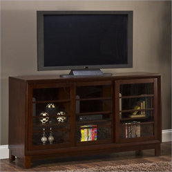 "Hillsdale Arrow 60"" Entertainment Console in Espresso"
