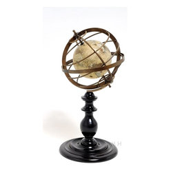 EuroLux Home - New Globe Brass Metal Rings OM-142 - Product Details