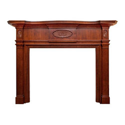 Fireplace Surrounds - Colonial Mantel 15729 - In Cherry Wood
