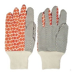Hable Construction Clementine Beads Garden Gloves - These garden gloves are so cute that whomever you give them to may not want to get them dirty! However, they wash up nicely!