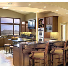 Traditional Kitchen by Norman Design Group, Inc.