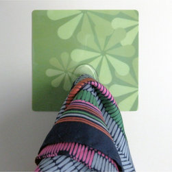 RoomMates - Crearreda Go Green Magic Hooks - CRE31204 - Shop for Wall Hooks Shelves and Racks from Hayneedle.com! This handy Go Green Peel & Stick Hook will look great in any room in your home. Hook holds jewelry scarves or other lightweight items. Easy to apply simply remove the 3-D foam sticker from the backing and press firmly to the wall. For best results apply the wall decals to smooth flat surfaces only. Do not apply on freshly painted walls wallpaper or any delicate surface. Includes 1 sticker tile with hook 3.7 x 3.7-inch.Please note this product does not ship to Pennsylvania.