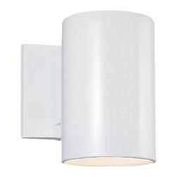Sea Gull - Sea Gull One Light Outdoor Wall Lantern - Width: 5''