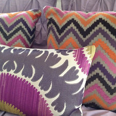 Eclectic Decorative Pillows by Isabel Schultz Design