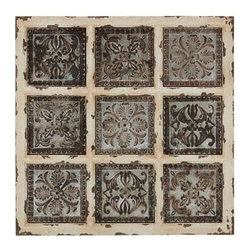 Benzara - British Styled Metallic Wall Plaque - British Styled Metallic Wall Plaque. This wall plaque will look brilliant if added to your abode. Some assembly may be required.