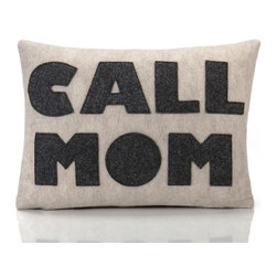 alexandra ferguson llc - Call Mom, Oatmeal/Charcoal - The gift that keeps on giving....the perfect senf off or just a little reminder for all your kids. MADE IN THE USA