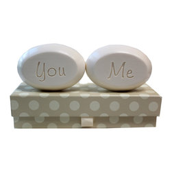 New Hope Soap - Scented Soap Bar Personalized – You and Me, Lemon Verbena - Personalized Scented Soap Bar Gift Set Engraved with You & Me