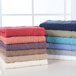 Traditions Linens Suzi King Pillow Sham - Featuring both comfort and style, the Traditions Linens Suzi King Pillow Sham is your go-to cover for protecting your precious pillows. There are a plethora of vibrant colors from which to choose, so you're bound to find the perfect match no matter your decor. Cozy up with these machine washable shams and put the finishing touches on your ensemble today.About Traditions LinensBased in Claverack, N.Y., Traditions Linens is a family business that has been a leader in the world of home textiles, bed linen design, and manufacturing for more than 35 years. Drawing inspiration from her background in antiques, the beauty of the Hudson Valley, and her frequent travels, Pamela Kline creates fine bedding collections that layer texture, color, and pattern in all-natural fibers and with meticulous attention to detail. The company's product line includes blankets, sheet sets, quilts, towels, window treatments, duvet covers, decorative pillows, and more. Their products can be found in specialty boutiques, home furnishing stores, catalogs, and online retailers in the United States, Canada, Europe, South America, and Asia.