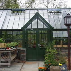 attached English greenhouses / glasshouses - Victorian greenhouses / glasshouses - Hartley Victorian Grand Manor Glasshouse by Hartley Botanic Inc.