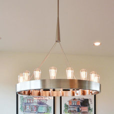 Transitional Dining Room by Legend Lighting