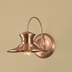Norwell Lighting Small Budapest Wall Outdoor Sconce 5153 - For over 75 years, Norwell Lighting and Accessories has been proud of its reputation for producing high quality solid brass interior and exterior lighting. We continue to build on our history by creating unique lighting designs to complement the interior of your home as well as grace your landscape and exterior architecture.