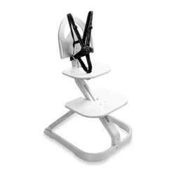 Svan - Svan Signet Essential High Chair in Whitewash - Let your little one enjoy family meals with the rest of the family! This award-winning Scandinavian-designed Signet Essential High Chair by Svan grows with your child from infant to young adult.