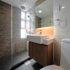 Contemporary Bathroom by The Interior Place (S) Pte Ltd