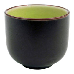 CAC China - Japanese Style 1.5 oz Wine Cup Golden Green - Case of 72 - C.A.C. China provides durable dinnerware at all levelsincluding super white porcelain fine bone china American white chinacolored glaze china and Asian style china. C.A.C China offers a variety of innovative shapes from square rectangular triangular wavy to round that will brighten up any tables for modern trendy restaurants hotels resorts clubs caterers cruises etc. All C.A.C China products are oven microwave and dishwasher safe.