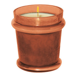 "Everybody's Ayurveda - Fire Filled Votive Ayurvedic Candle - Amber - This passionate fragrance evokes the characteristic of a wood-burning fireplace combined with exotic spices. Filled Votive. 100% soy wax Ayurvedic Candle in Glass. Made in the U.S.A. 2 1/2"" Wide x 2 1/2"" Deep x 3"" Tall."