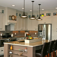 Kitchen Cabinetry by Designer for Triton Homes, Owner Triton Interiors