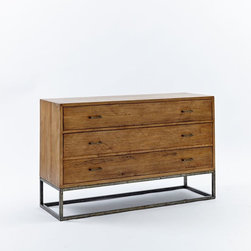 Copenhagen 3-Drawer Dresser, Wide - I'd love to replace my husband's and my dressers, and these are just our style.