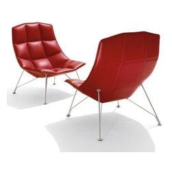 Knoll - Jehs + Laub Wire Base Lounge, Fixed Back | Knoll - Design by Markus Jehs and Jürgen Laub, 2008.
