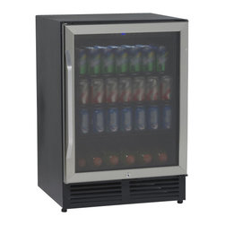 Avanti - Avanti Beverage Cooler with Glass Door - FEATURES