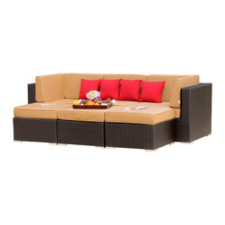 Patio Furniture With Seats That Have  Inch Thick Cushions