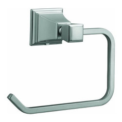 DHI-Corp - Torino Towel Ring, Satin Nickel - The Design House 560466 Torino Towel Ring adds an elegant accent to any bathroom wall with a unique design and quality appearance. This sleek open towel ring is constructed of brass and zinc, finished in satin nickel and measures 6.5-inches. Ez anchor mounts are included with this towel ring for quick installation on drywall and a mounting template is conveniently printed on the back of the package. Anchors are a cleaner alternative to plugs and they are well-known for their steadfast strength and intuitive design. The Torino collection features a matching toilet paper holder, robe hook and towel bar for a complete bathroom set to enjoy for years to come. The Design House 560466 Torino Towel Ring comes with a 1-year limited warranty that protects against defects in materials and workmanship. Design House offers products in multiple home decor categories including lighting, ceiling fans, hardware and plumbing products. With years of hands-on experience, Design House understands every aspect of the home decor industry, and devotes itself to providing quality products across the home decor spectrum. Providing value to their customers, Design House uses industry leading merchandising solutions and innovative programs. Design House is committed to providing high quality products for your home improvement projects.