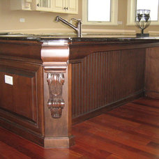 Traditional Kitchen Islands And Kitchen Carts by Christopher Jenkins