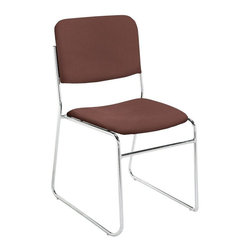 National Public Seating - National Public Seating 8600 N Series Stacking Chair - Burgundy - 8658-40 - Shop for Chairs from Hayneedle.com! With the National Public Seating 8600 N Services Stacking Chair - Burgundy everyone gets the best seat in the house. Dedicated to durability and committed to comfort each of these chairs is crafted with industrious tubular steel framing and covered in a 1.5-inch high-density foam upholstery. Because comfortable guests are happy guests.Additional information:19-inch seat heightDurable and stable yet lightweightContoured seat for added comfortFront frame strengthenerAbout National Public SeatingNational Public Seating provides seating products of the highest quality grade materials and craftsmanship for educational religious hospitality government commercial and other institutional markets. Incorporated in 1997 National Public Seating is based in Clifton N.J. and offers one of the nation's largest lines of quick-ship in-stock folding chairs and tables stack chairs stools and dollies. Other product lines include stages risers science tables and mobile cafeteria tables. Their high-quality products are currently in use in tens of thousands of facilities nationwide.Mindful of Our EnvironmentNational Public Seating is committed to preserving the quality of their products and the quality of the environment. To this end the company manufactures their products with varying percentages of pre- and post-consumer waste (recycled material). All of the steel for their products contains 30-40% of post-consumer waste and their plastic products contain up to 35% of pre-consumer waste. All of the wood used for their products comes from non-boreal forests. National Public Seating also uses powder-coat finishes instead of liquid finishes in order to prevent pollutants from being released into the atmosphere and to reuse retrieved overspray. All these efforts and more help their employees and customers be mindful of the environment.