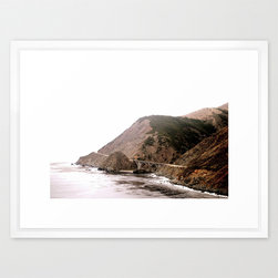 The Golden Coast Print - California has miles of beautiful coastline, perfect for road trips. Capture one small portion from Big Sur for your home with this photographic fine art print. With this on your wall, you'll be reminded of fresh sea breezes and the gentle roar of the waves.