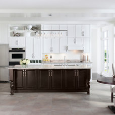 Transitional Kitchen Cabinets by Pro Stone Kitchen and Bath Gallery