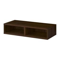 IKEA of Sweden - BESTÅ Bench - Bench, walnut effect