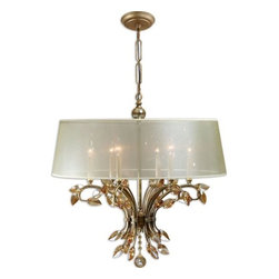Uttermost - Uttermost 21246 Alenya 6 Light Single Tier Chandelier - Features: