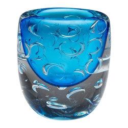 Cyan Design - Cyan Design Bristol Vase in Cobalt Blue - Bristol Vase in Cobalt Blue