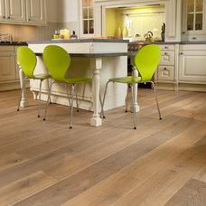 Contemporary Hardwood Flooring by Bois Chamois