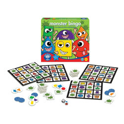 The Original Toy Company - The Original Toy Company Kids' Monster Bingo - Learn about shapes and color in this fun, first bingo game. Two ways to play. Ages 3 years plus. Made in England. 2-4 players.