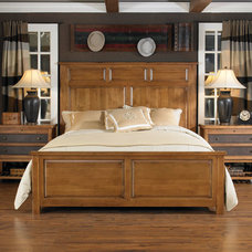 traditional nightstands and bedside tables by National Furniture Supply