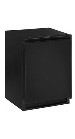 """U-Line - 2175RFB 24"""" Built-in Undercounter Refrigerator/Freezer with 5.7 Cu. Ft. Capacity - When you can have the best of everything why deny your desires More convenience more flexibility Offering additional capacity for the kitchen or the flexibility of storing both refrigerated and frozen items wherever they are needed the 2175RF is the ..."""