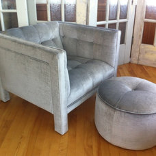 Modern Chairs by Artisan Upholstery Studio
