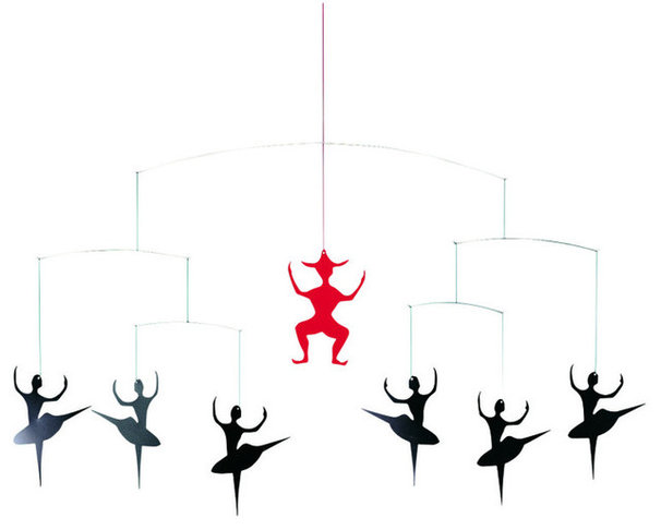 Contemporary Baby Mobiles by Design Public