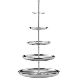 DK Living - DK Living Aluminum Polish Five-Tier Server -