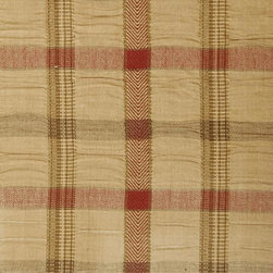 Plaid/Check - Autumn Upholstery Fabric - Item #1011608-132.