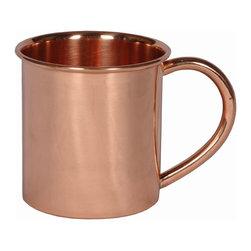 Custom Copper Mugs, LLC - 12 oz Copper Mug - 12 oz. copper mug