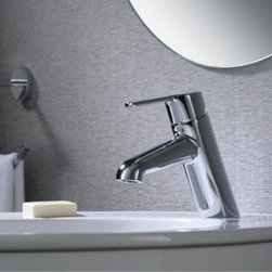 Bathroom Faucets - Hot Sale Chrome Finish Single Hole Mount Mixer Taps Bathroom Sink Faucet--FaucetSuperDeal.com