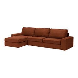 Ola Wihlborg - KIVIK Sofa and chaise lounge - Sofa and chaise lounge, Tullinge rust